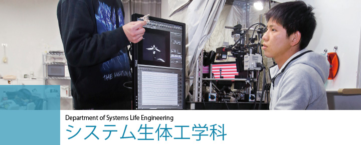 Department of Systems Life Engineering システム生体工学科
